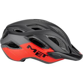MET Crossover Helmet black/red
